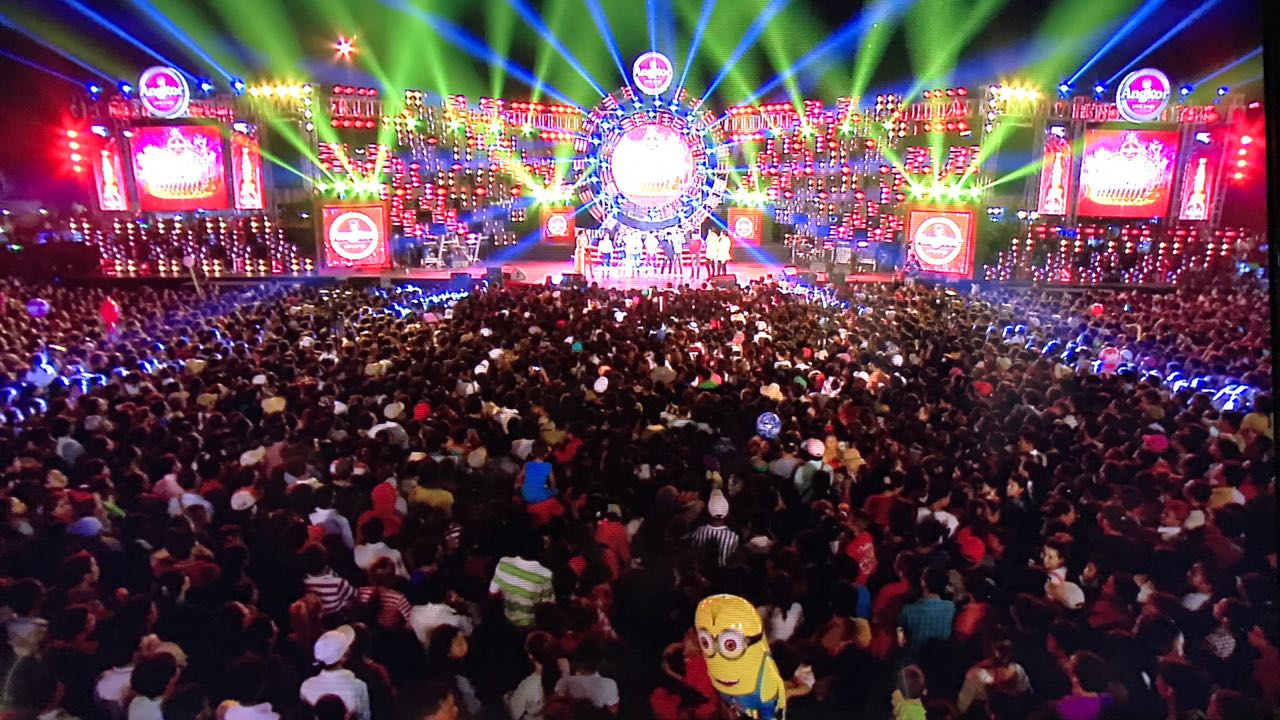 2016 Music Water Festival Concert in Cambodia