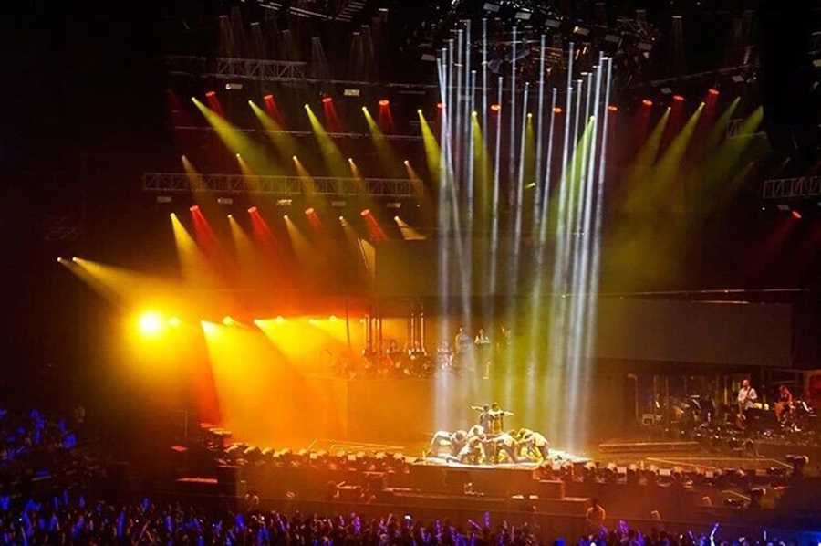 80 pcs BIG EYE L4019 supported JJ Lin Sanctuary World Tour